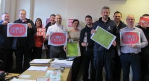 Sport Relief 2018 at our North East Branch