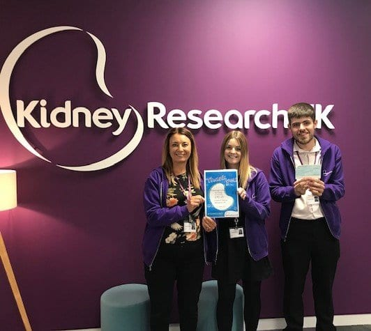 Thank you from Kidney Research